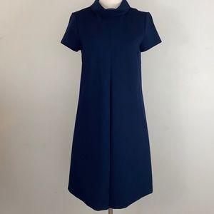 J.McLaughlin navy front pleat dress Size S
